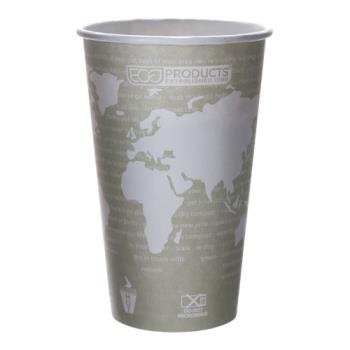 57167 - Eco-Products - EP-BHC16-WAPK - 16 oz World Art™ Hot Cups Convenience Pack Product Image