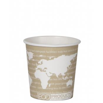 57130 - Eco-Products - EP-BHC4-WA - 4 oz World Art™ Hot Cups Product Image