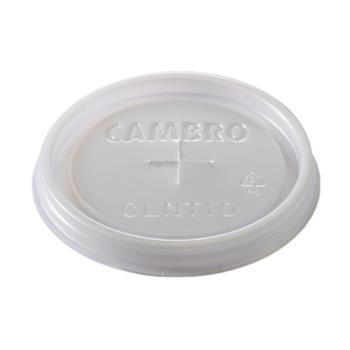 CAMCL900P - Cambro - CL900P190 - CamLid® Disposable 9.7 oz Colorware Tumbler Lid Product Image
