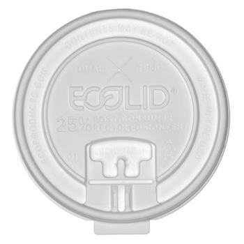ECOEPHCLDTR - Eco-Products - EP-HCLDT-R - Hot And Cold Locking Tab Lid Product Image