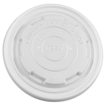 56255 - Karat Earth - KE-KDL114 - 12-16 oz Paper Food Container Lids Product Image