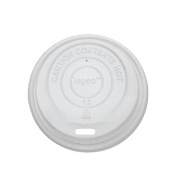 57287 - Karat Earth - KE-KDL508 - 8 oz Compostable Dome Sipper Lids Product Image