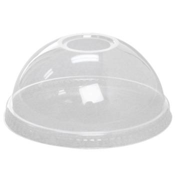 56251 - Karat Earth - KE-KDL626 - 12-24 oz PLA Cup Dome Lids Product Image