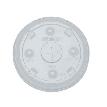 59000 - Solo - 668NS - 12-24 oz Lid with Straw Slot Product Image
