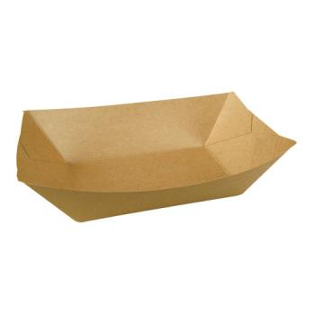 59778 - Superior Quality - 10905990 - 3 lb Kraft Food Tray Product Image