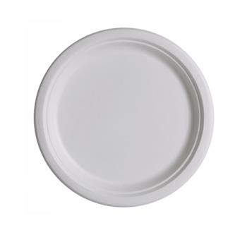 56130 - Eco-Products - EP-P005 - 10 in Round Sugarcane Plates Product Image