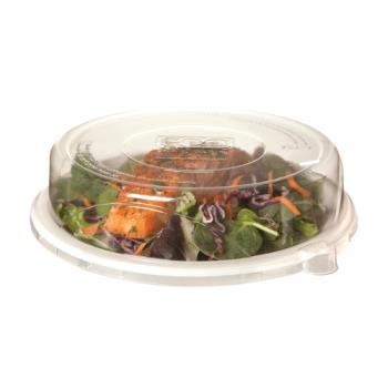 56210 - Eco-Products - EP-P013LID -9 in WorldView™ Recycled Content Sugarcane Plate Lids Product Image