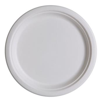 57177 - Eco-Products - EP-P013PK - 9 in Sugarcane Dinner Plate Convenience Pack Product Image