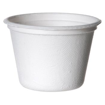 57193 - Eco-Products - EP-SPC4 - 4 oz Sugarcane Portion Cups Product Image