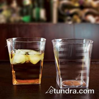 EMIST9 - EMI Yoshi - EMI-ST9 - 9 oz Clear Extra Heavy Weight Square Rocks Tumbler Product Image