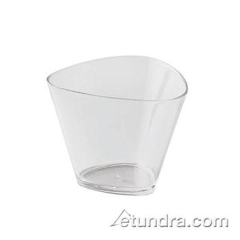 WOR4835301 - World Cuisine - 48353-01 - 4.1 oz Disposable Triangular Glass Product Image