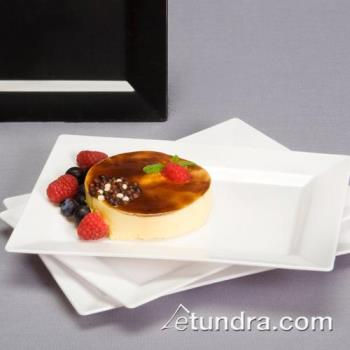 "EMIRP6WH - EMI Yoshi - EMI-RP6 - 7 1/2"" x 5 1/2"" White Dessert Plate Product Image"