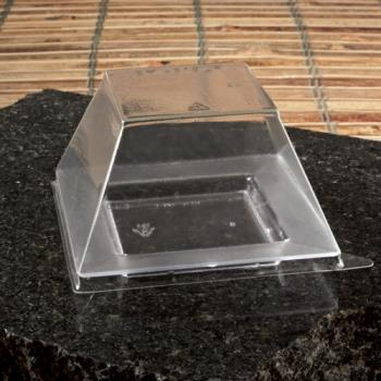 "EMI619LP - EMI Yoshi - EMI-619LP - 3"" Square Clear Mini Dish Lid Product Image"