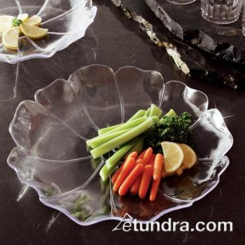 "EMI121 - EMI Yoshi - EMI-121 - 12"" Clear Shallow Flower Tray Product Image"