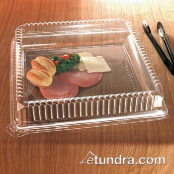 "EMI1818CL - EMI Yoshi - EMI-1818 - 18"" Clear Square Tray Product Image"