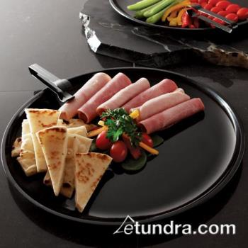 "EMI420BLK - EMI Yoshi - EMI-420 - 12"" Black Round Party Tray Product Image"