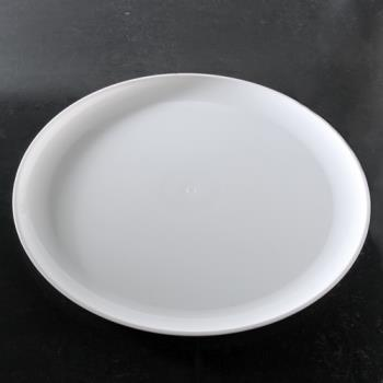 "EMI480WH - EMI Yoshi - EMI-480 - 18"" White Round Party Tray Product Image"