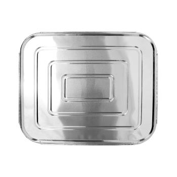 57272 - Karat - AF-STPL03 - 1/2 Size Foil Steam Table Pan Lids Product Image