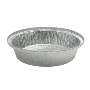 58166 - Western Plastics - 527-B - 7 in Round Foil Takeout Pan Product Image