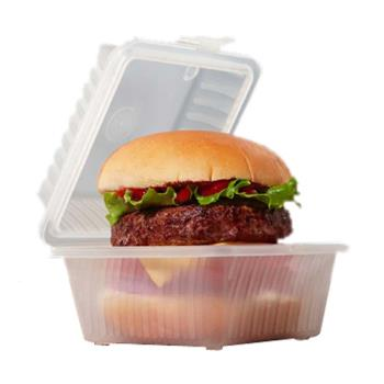 GETEC081CL - GET Enterprises - EC-08-1-CL - Eco-Takeouts 4 3/4 in 1-Comp Container Product Image