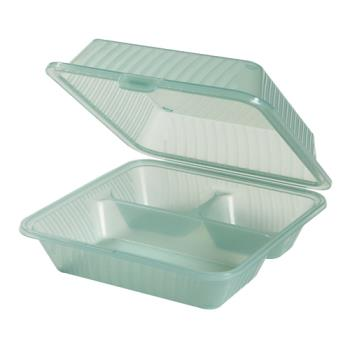 GETEC091JA - GET Enterprises - EC-09-1-JA - Eco-Takeouts Jade 1-Comp Container Product Image