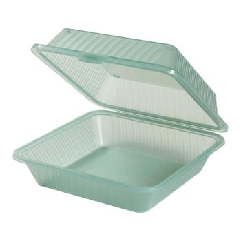 GETEC101JA - GET Enterprises - EC-10-1-JA - Eco-Takeouts Jade 3-Comp Container Product Image