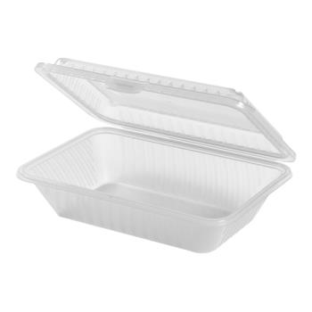 GETEC111CL - GET Enterprises - EC-11-1-CL - Eco-Takeouts 9 in x 6 1/2 in x 2 1/2 in 1-Comp Container Product Image