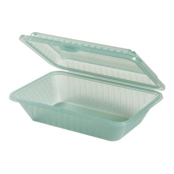 GETEC111JA - GET Enterprises - EC-11-1-JA - Eco-Takeouts Jade 9 in x 6 1/2 in x 2 1/2 in 1-Comp Container Product Image
