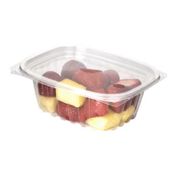 57143 - Eco-Products - EP-RC12 - 12 oz PLA Rectangular Deli Containers with  Lid Product Image