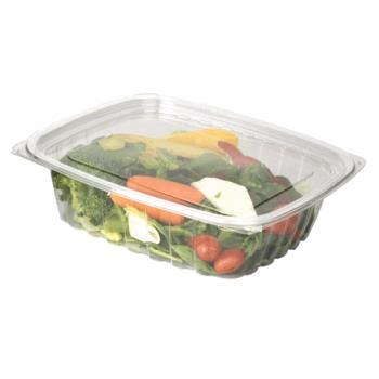 56165 - Eco-Products - EP-RC24 - 24 oz PLA Rectangular Deli Containers with  Lid Product Image