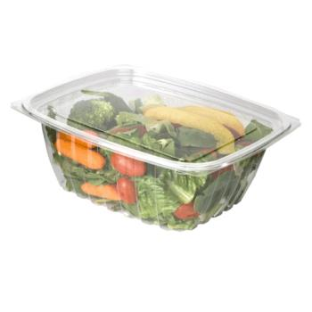 57145 - Eco-Products - EP-RC32 - 32 oz PLA Rectangular Deli Containers with  Lid Product Image