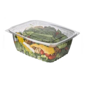 56166 - Eco-Products - EP-RC64 - 64 oz PLA Rectangular Deli Containers with  Lid Product Image
