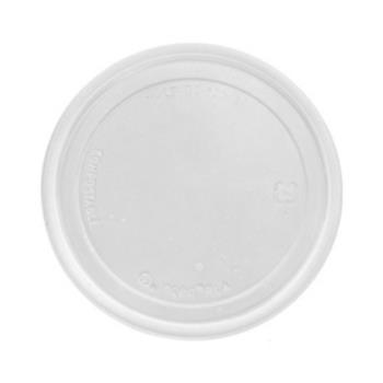 59086 - Eco-Products - EP-RDP5LID - 5 oz  Compostable PLA Round Deli Cup Lids Product Image