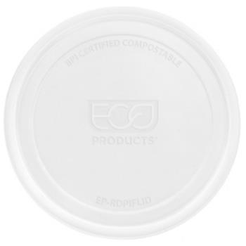 56172 - Eco-Products - EP-RDPLID - 8-32 oz Round Deli Container Lids Product Image