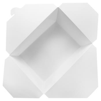 57240 - Karat - FP-FTG110W - 110 oz White Fold-To-Go Boxes Product Image