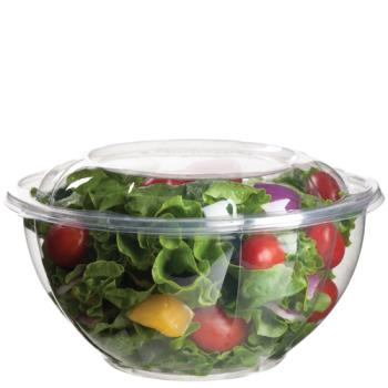 57150 - Eco-Products - EP-SB32 - 32 oz PLA Salad Bowls with  Lids Product Image