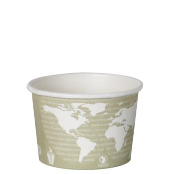 56143 - Eco-Products - EP-BSC16-WA - 16 oz World Art™ Renewable and Compostable Soup Containers Product Image