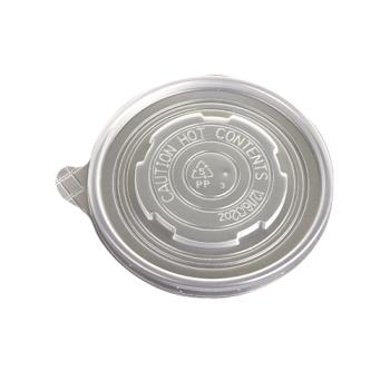 56174 - Eco-Products - EP-BSCPPLID-L - 12-32 oz Soup Container Lids Product Image