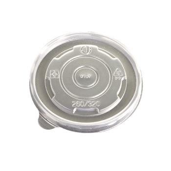 56145 - Eco-Products - EP-BSCPPLID-S - 8 oz Evolution World™ Hot and Cold Food Container Lids Product Image