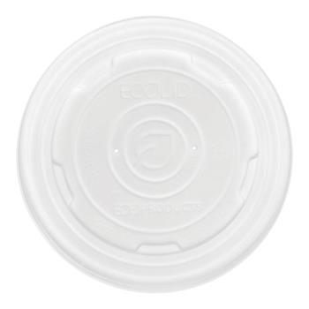 56186 - Eco-Products - EP-ECOLID-SPL - 12-32 oz EcoLid™ Soup Cup Lids Product Image