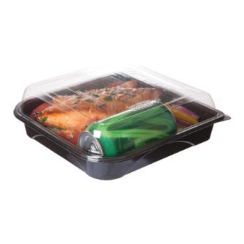 56189 - Eco-Products - EP-PTOR9 - 9 in Recycled PET Take Out Containers Product Image
