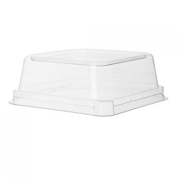 56334 - Eco-Products - EP-SCS5LID - 5 in WorldView™ Recycled Content Square Bowl Lids Product Image