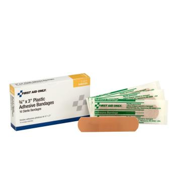 54125 - First Aid Only - 1-001 - 3/4 in x 3 in Adhesive Bandages Product Image