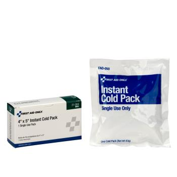54193 - First Aid Only - 21-004 - 4 in x 5 in Cold Compress Product Image