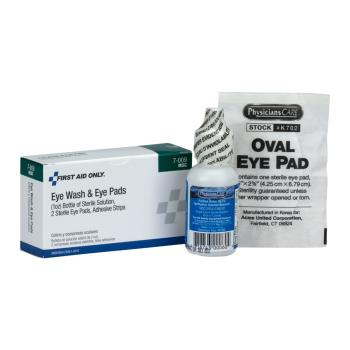 54196 - First Aid Only - 7-009 - Eye Wash Kit Product Image