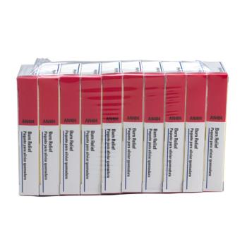 54132 - First Aid Only - AN404-10 - Burn Relief Gel Packets Product Image