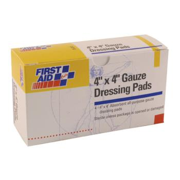 54113 - First Aid Only - B207 - 4 in x 4 in Gauze Pads Product Image