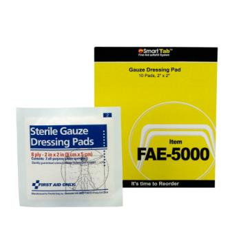 54081 - First Aid Only - FAE-5000 - 2 in x 2 in Gauze Pad Product Image