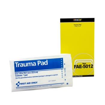 54083 - First Aid Only - FAE-5012 -  9 in x 5 in Trauma Pad Product Image