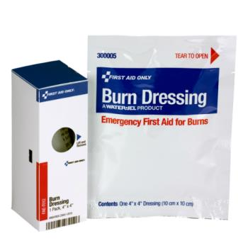 54094 - First Aid Only - FAE-7012 - 4 in x 4 in Burn Dressing Refill Product Image